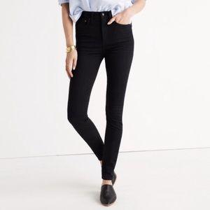 "Madewell Rivet & Thread 11"" High Rise Skinny Jean"